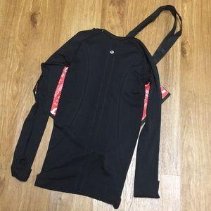 lululemon athletica Tops - ⬇️Lululemon Black Run Swiftly longsleeve